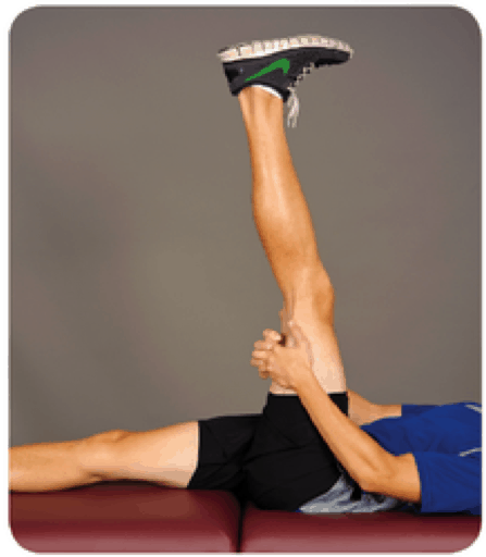 hamstring stretch to avoid lower back pain