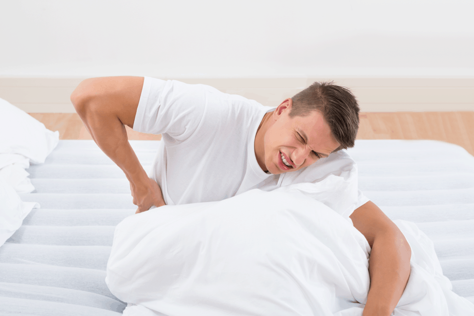 Quality sleep to avoid lower back pain